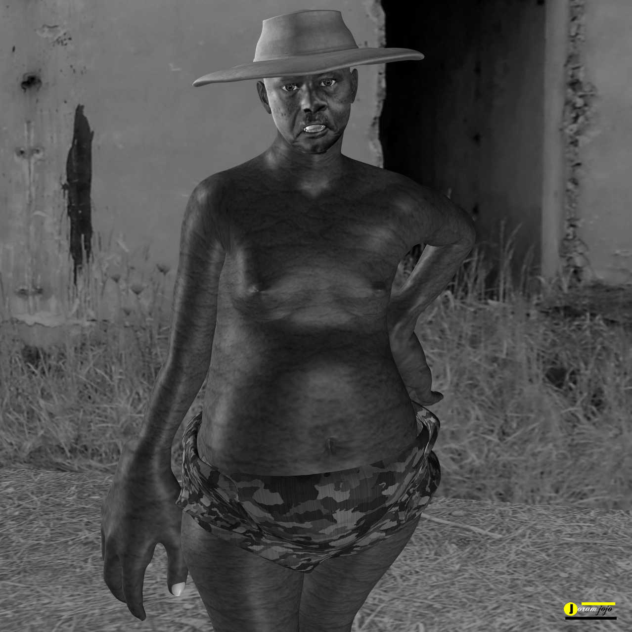 The Notorious Autocratic Yoweri Museveni at one of his his torture facility
