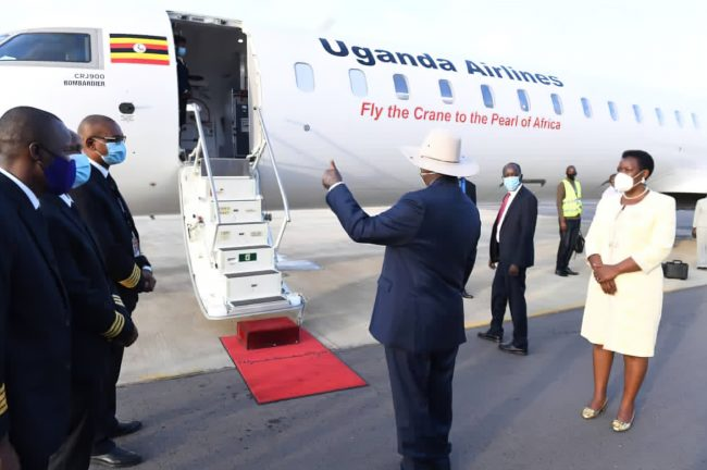 restricted travellers from Uganda