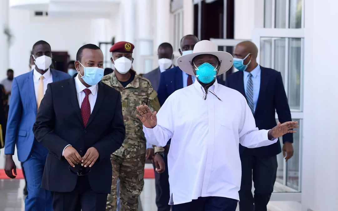 DICTATOR MUSEVENI AND ABIY AHMED ON A GENOCIDE MOBILISATION TRIP